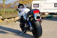 Suzuki Katana love the number plate there is always a sign you are watching over me x