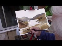 Watercoloring ,,using the right colours - YouTube