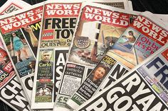 Dos periódicos en la mira de la policía británica - News of the World,