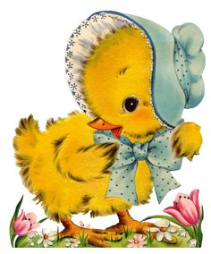 Alenquerensis: Cute Vintage Cards for Your Easter Easter Greeting Cards, Vintage Greeting Cards, Vintage Postcards, Easter Art, Easter Crafts, Easter Bunny, Easter Chick, Happy Easter, Old Illustrations