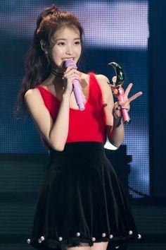 151213 CHAT-SHIRE Concert Gwangju cr: hexas : lee ji eun Beautiful Celebrities, Most Beautiful Women, Iu Fashion, Womens Fashion, Bae Suzy, Just Girl Things, Korean Artist, Pop Singers, Korean Actresses