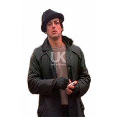 Rocky Balboa Black Leather Jacket