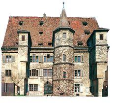 Hôtel d'ebersmunster,Vers 1538 Sélestat Ancienne résidence urbaine des abbés bénédictins d'Ebersmunster, ce bâtiment présente un décor Renaissance d'une grande richesse.
