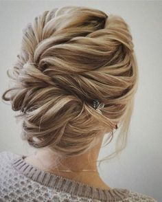 Beautiful wedding hair to make the most of your fabulous highlights!