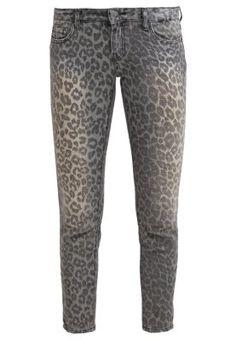 MATHIS - Jean slim - Barcelona - Printed leopard denim by Cimarron jeans #cimarronparis