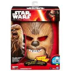 Star Wars The Force Awakens Chewbacca Electronic Mask $29.99 at  amazon.com #LavaHot http://www.lavahotdeals.com/us/cheap/star-wars-force-awakens-chewbacca-electronic-mask-29/97213