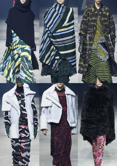 Paris Fashion Week Womenswear Print Highlights Part 2 – Autumn/Winter 2015/16   Patternbank