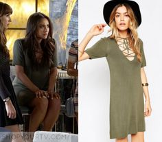 Emily Fields Fashion, Clothes, Style and Wardrobe worn on TV Shows |