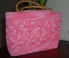 Linda Bolsa Crochet