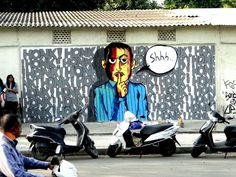 street arts in India