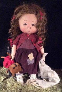 Tallulah One of a Kind Toddler by doll artist  Jan Shackelford  janshackelford@dollsbyjanshackelford.com