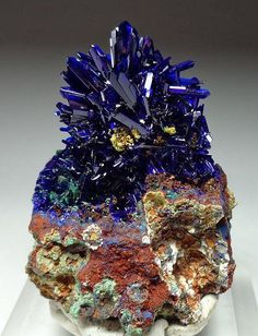 Azurite rocks and minerals 465                                                                                                                                                                                 More