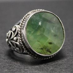 Sterling Silver Unique Handmade Ring for Men by KaraJewelsTurkey, $135.00