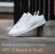 quality design 47cef 68c81 United Arrows x Reebok NPC II