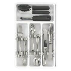 Utensil Trays, Utensils, Utensil Organizer, Storage Organizers, Kitchen Drawer Organization, Kitchen Drawers, Drawer Storage, Kitchen Tops, Diy Kitchen