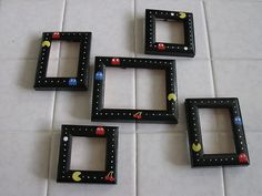 These would be a great addition to Link's bathroom or our game room. Looks easy enough.