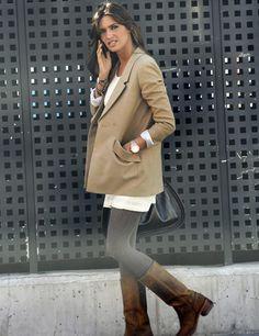 Shoes and Basics: Sara Carbonero - It Style