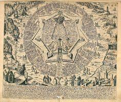 Heinrich Kunrath. Amphitheatrum Sapientiae Aeternae, Solius Verae, Christiano-Kabalisticum, Divino-Magicum, nec non Physico-Chymicum. 1609.(Hypotyposis Arcis)