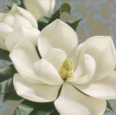 Cuadros Modernos Pinturas : Cuadros Con Flores En Color Blanco, Pintados por Igor Levashov
