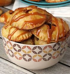 Salted Caramel Apple Pie Cookies - oh my! A delicious treat for your holiday cookie exchange