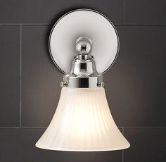 RH's Chatham Single Sconce:Chatham features ball-and-spool finials, soft angles and a timeless style.