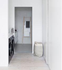 Laundry room/walk-in closet.