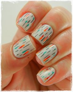 A Girl and Her Polish: The Digit-al Dozen Does: Decades - 40s Abstract or 50s Park Life