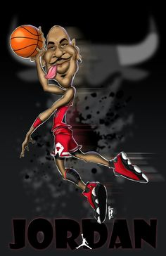 Come Fly With Me... Jordan caricature. #caricature #michaeljordan #gemi7jack_art Michael Jordan Unc, Jordan 23, Jordan Shoes, Funny Caricatures, Celebrity Caricatures, Jordan Poster, Black Art Pictures, Nba Funny, Cartoon Faces