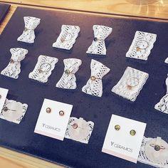 _ . #YCeramics #ceramics #porcelainjewelry #ceramicjewelry #ring #earrings #jewelry #fair #daily _ #도자 #악세사리 #쥬얼리 #신상 #귀걸이 #반지 #세트 #G세라믹라이프페어 #한국도자재단 #창조공방 #일상 #데일리 #세텍 Photo And Video, Instagram