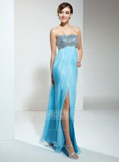 Prom Dresses - $139.99 - Empire Sweetheart Floor-Length Chiffon Prom Dress With Ruffle Beading (018022452) http://jjshouse.com/Empire-Sweetheart-Floor-Length-Chiffon-Prom-Dress-With-Ruffle-Beading-018022452-g22452?pos=more_items_to_consider_3