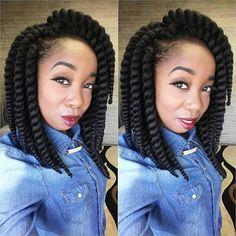 "Janet Collection 12"" Havana Mambo Twist Crochet Hair. Crochet Braids | Crochet Twist | Protective Styles | Hair Crush | Natural Hair"