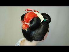 ▶ Geisha Hair Dressing - YouTube