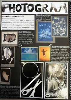 Photography arte gcse sketchbook pages 42 Ideas A Level Photography, History Of Photography, Photography Lessons, Photography Projects, Book Photography, Amazing Photography, School Photography, A Level Art Sketchbook, Sketchbook Layout