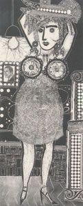Obra de Berni - Ramona vive su vida, 1963.