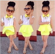 This is so awful. Let little girls be little girls. Don't dress them like…
