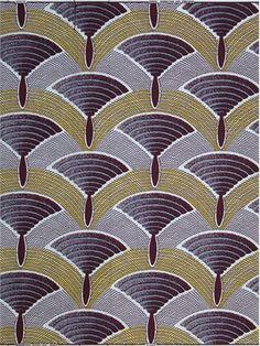 Art Deco Fabric. @designerwallace