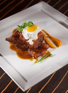 430 Duval offers enticing island inspired Small Plates with bold Caribbean spices and fresh local seafood created by Executive Chef Andrew Nguyen.  Pictured: Fried Egg  http://www.laconchakeywest.com/430-duval.aspx