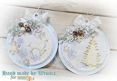 Blog studio75.pl: Biało niebieskie święta / White and Blue Christmas...