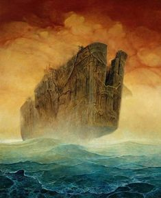 History of Art: Zdzislaw Beksinski NOTE: The site I linked has questionable ads.  View with NoScript or AdBlock.