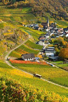 Idyllic village of Mayschoß,  Rhineland-Palatinate / Germany (by akustyk.magma).  (Source: panoramio.com)