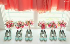 Bridesmaids' outfits. Photo Credit: Vanessa Joy