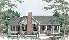 Country House Plan with 1756 Square Feet and 3 Bedrooms(s) from Dream Home Source | House Plan Code DHSW47062