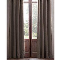 Perennials® Textured Linen Weave Drapery - Rod-Pocket