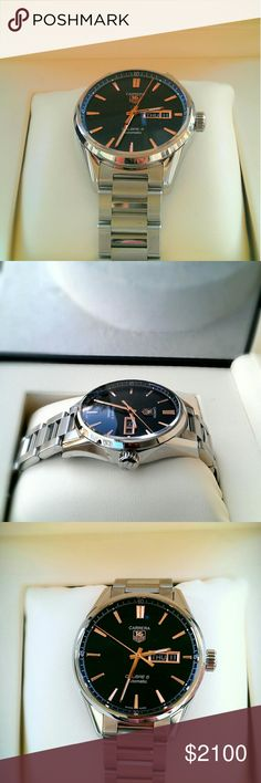 TAG Heuer Carrera Men's Watch (Certified) New in box, never worn. Certification included. Tag Heuer Accessories Watches