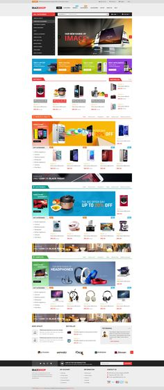 Maxshop – a clean and elegant design, which is suitable for online shop/store online market store, superMaxshop store, digital store, watch store, fashion store, luxury jewelry & accessories store or megastore with multiple categories and products. Maxshop is available in 10 different homepage layouts and 5 color variations that will meet all of your online store requirements.