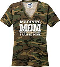 This shirt is for all the Marine Moms out there proud of their Marines