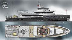 Monaco yacht show concept yacht