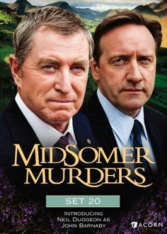 Midsomer Murders: Set 20 (Master Class / The Noble Art / Not in My Backyard / Fit for Murder) Mystery Show, Mystery Series, Cock Robin, Series Movies, Movies And Tv Shows, Inspector Lewis, Midsomer Murders, Tv Detectives, England