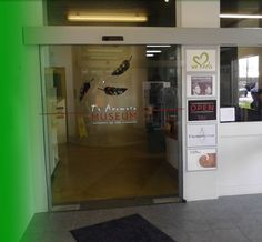 The new doors installed by ADS at the TA museum.