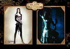 Moulin Rouge- Satine's black diamonds